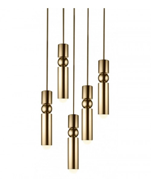 Lee Broom Fulcrum 5 Piece Chandelier