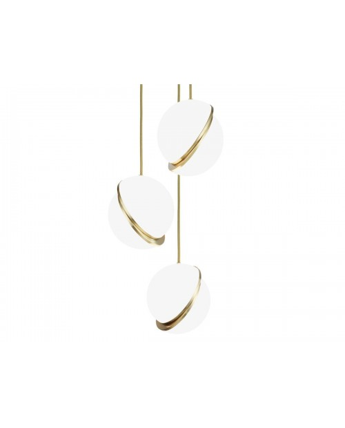 Lee Broom Mini Crescent 3 Piece Chandelier
