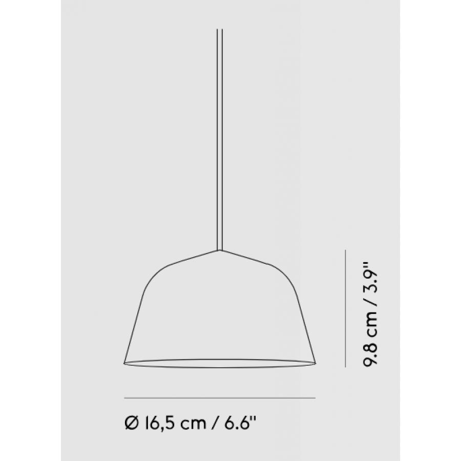 Muuto Ambit Pendant Lamp 216 16 5