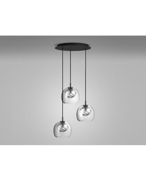 Oblure Inside Triplette Pendant Lamp