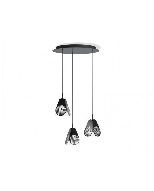Oblure Notic Triplette Pendant Lamp