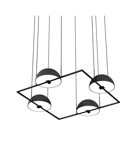 Oblure Trapeze Quartette Pendant Lamp