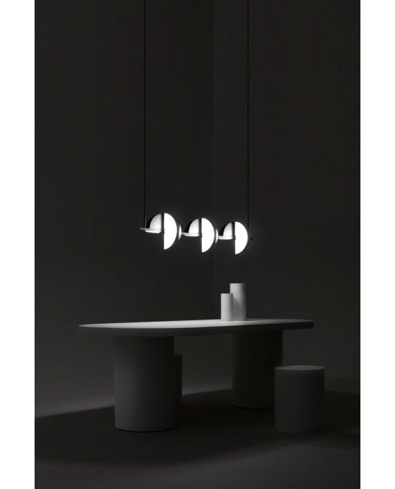 Oblure Trapeze Triplette Pendant Lamp