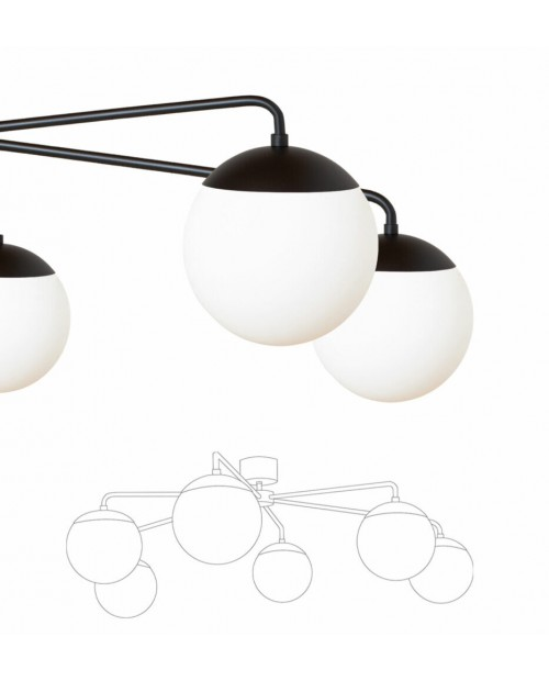 RUBN Lord Asymmetric Ceiling Lamp