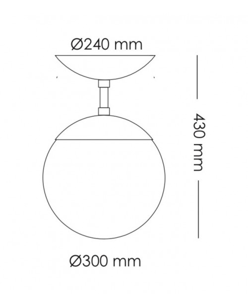 RUBN Lord 1 Ceiling Lamp