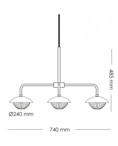 RUBN Lord Grace 3 Pendant Lamp