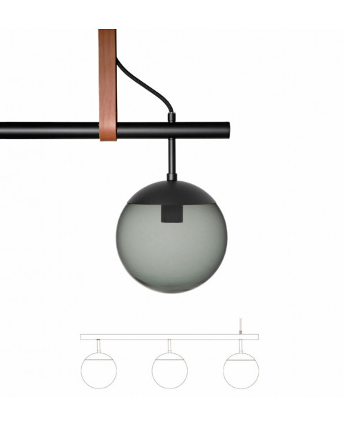 RUBN Long Lord 3 Pendant Lamp