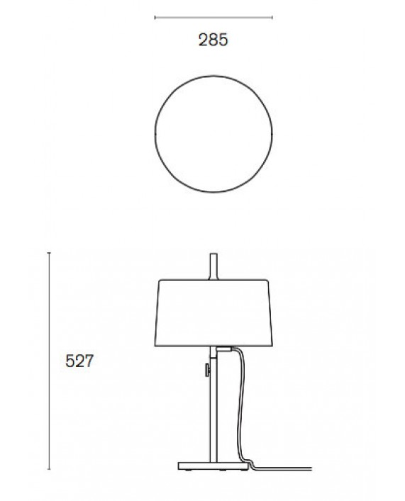 Wästberg W132 Nendo T2 Table Lamp