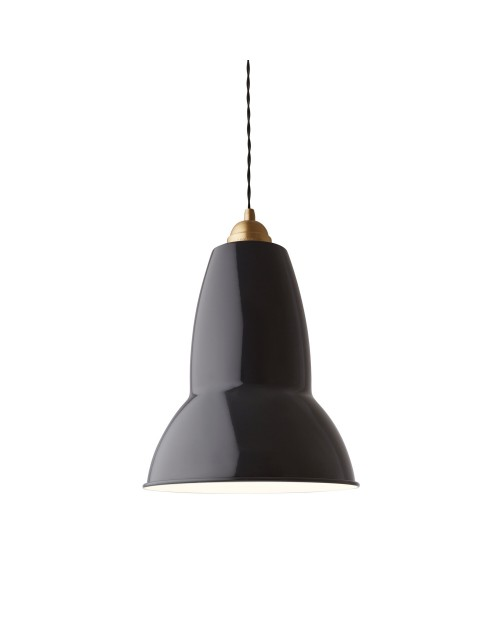 Anglepoise Original 1227 Brass Maxi Pendant Lamp
