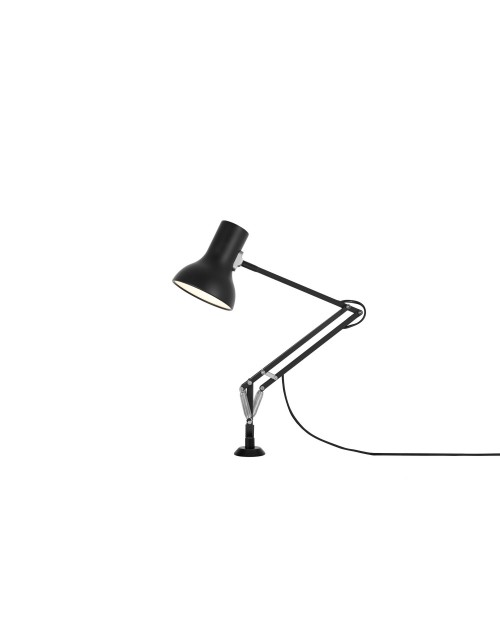 Anglepoise Type 75 Mini Desk Lamp with Desk Insert