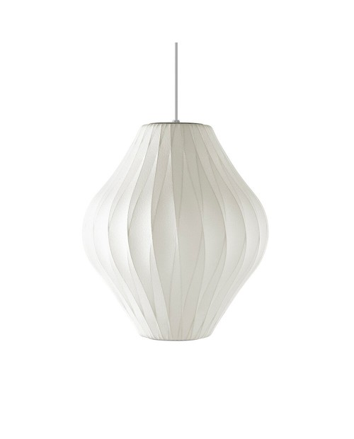 George Nelson Bubble Crisscross Pear Pendant Lamp