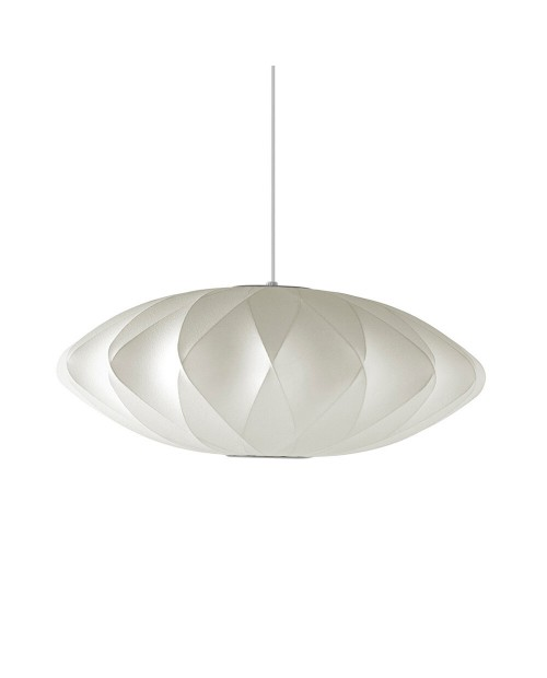 George Nelson Bubble Crisscross Saucer Pendant Lamp