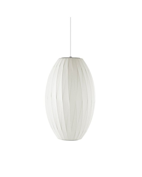 George Nelson Bubble Crisscross Cigar Pendant Lamp