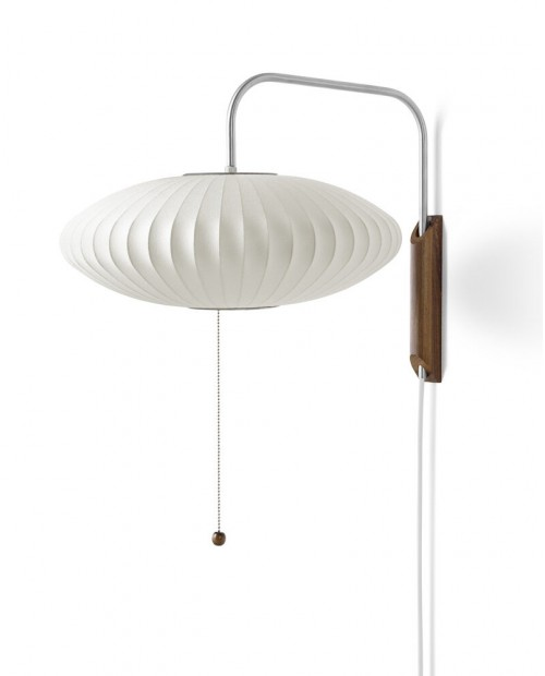 George Nelson Bubble Saucer Wall Lamp