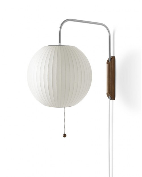 George Nelson Bubble Ball Wall Lamp