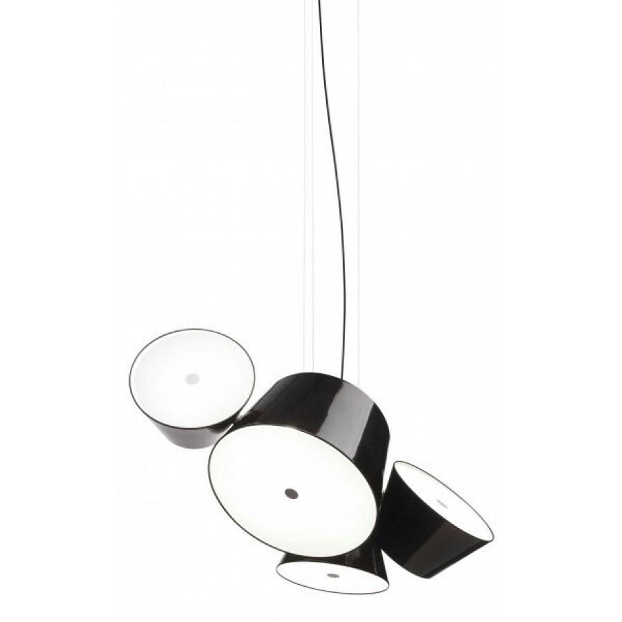 Marset tam tam 5 suspension lamp for Suspension a 3 lampes