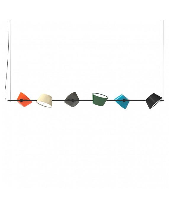 marset tam tam 6 suspension lamp. Black Bedroom Furniture Sets. Home Design Ideas