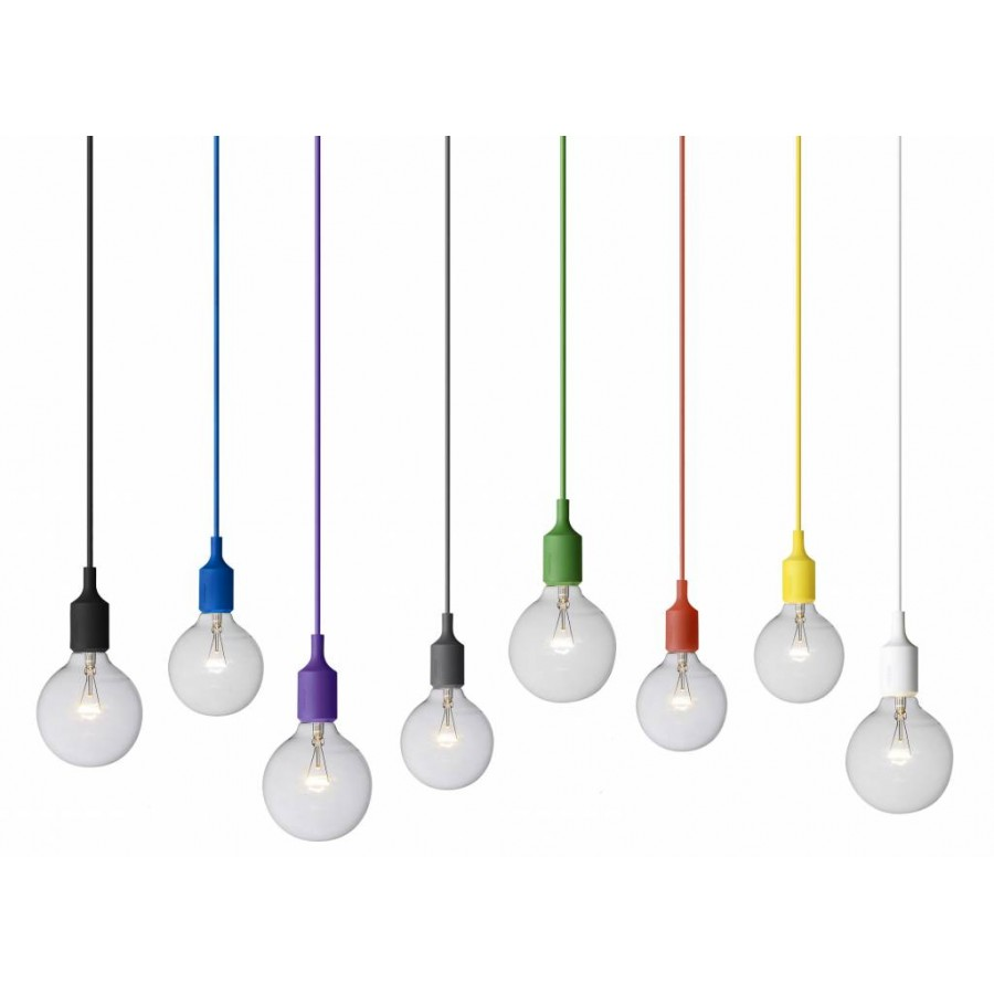 Muuto e27 pendant lamp for Ampoule suspension