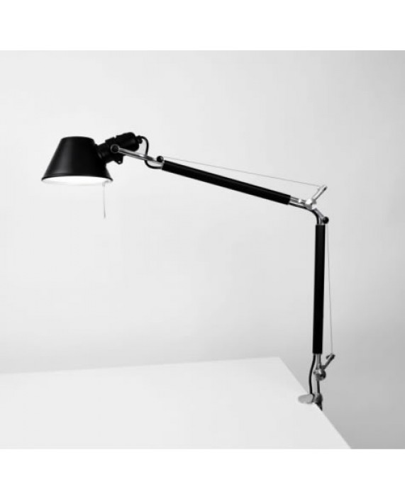 Artemide Tolomeo Mini Black Desk Lamp