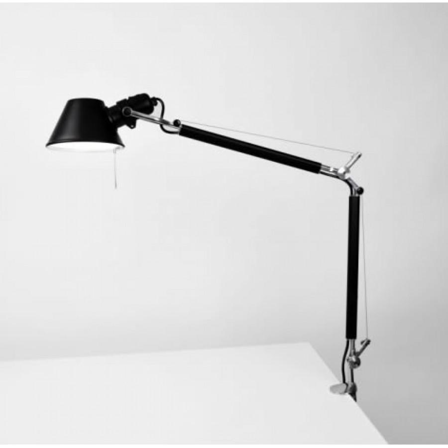 Artemide Tolomeo Mini Black Desk Lamp