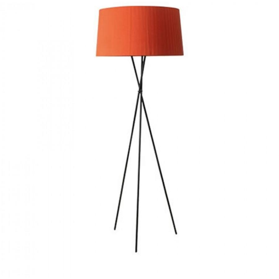 Santa cole tripode g5 floor lamp for Red 5 light floor lamp
