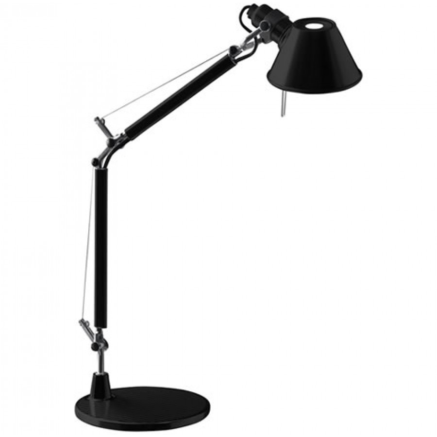 artemide tolomeo micro black desk lamp. Black Bedroom Furniture Sets. Home Design Ideas