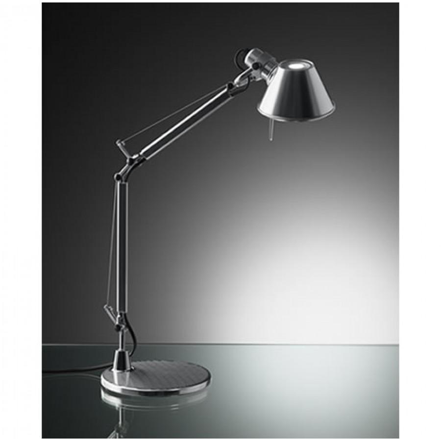 artemide tolomeo micro polished aluminium desk lamp. Black Bedroom Furniture Sets. Home Design Ideas