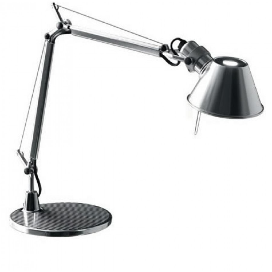 artemide tolomeo micro polished aluminium desk lamp. Black Bedroom Furniture Sets. Home Design Ideas