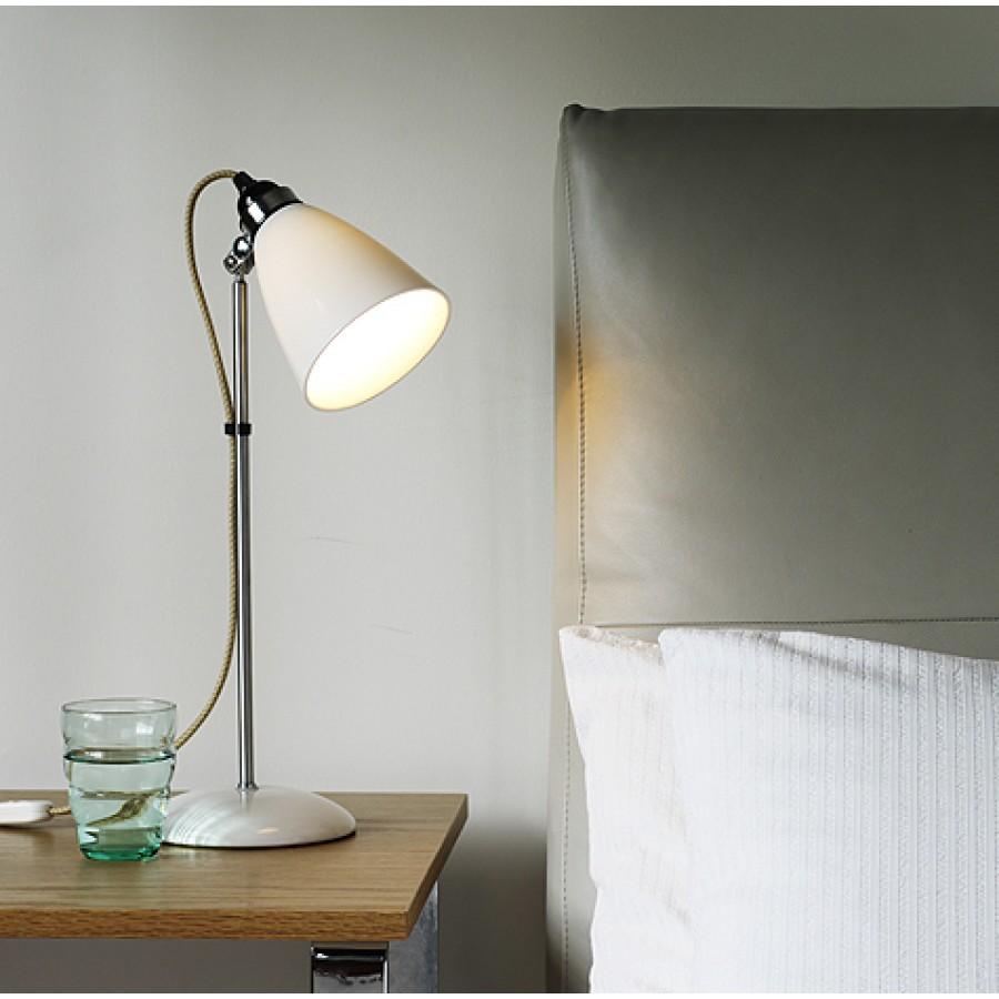 Original Btc Hector Medium Dome Table Lamp Natural