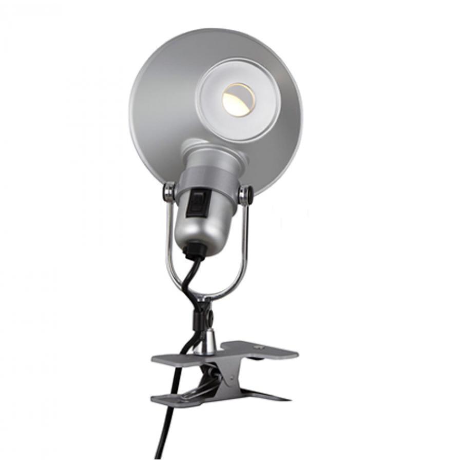 artemide tolomeo micro pinza lamp aluminium. Black Bedroom Furniture Sets. Home Design Ideas