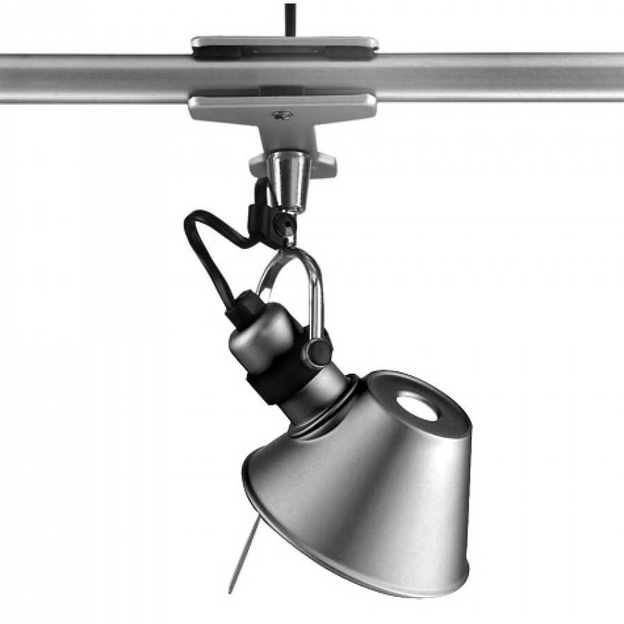 artemide tolomeo micro pinza lamp aluminium. Black Bedroom Furniture Sets. Home Design Ideas