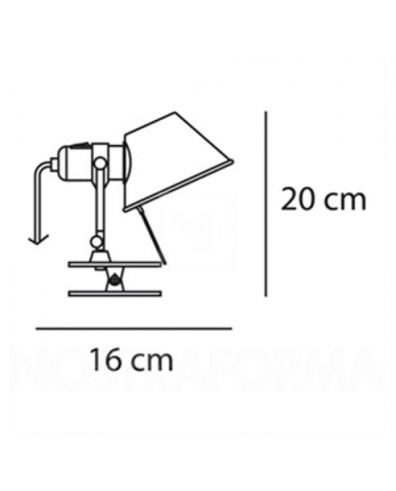 Artemide Tolomeo Pinza Lamp / Micro Pinza