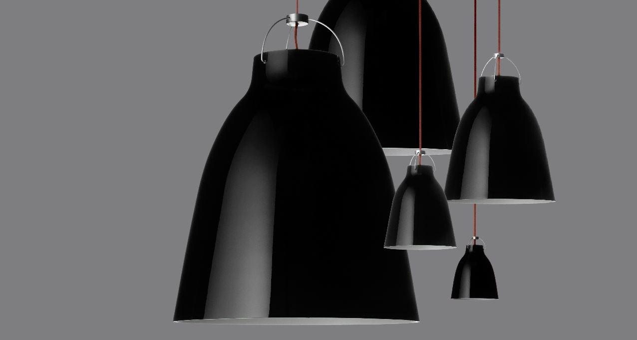 Lightyears Calabash 6 : Lightyears caravaggio pendant lamp
